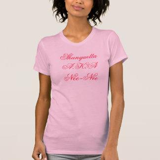 旧姓旧姓別名Shanquetta Tシャツ