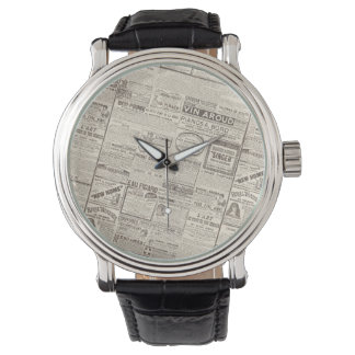 旧式でフランスのな広告-女性のためのプロダクト 腕時計