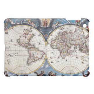 旧式で17世紀な世界地図 iPad MINIケース