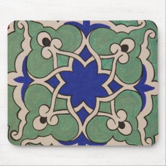 旧式なイスラム教のタイルのデザイン マウスパッド