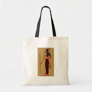旧式なエジプトの女神Serqet トートバッグ
