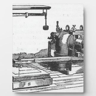 旧式なエンジニアリング用具のヴィンテージの短命なもの フォトプラーク