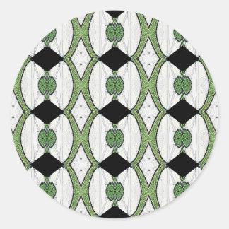 旧式なオットマンの織物のすばらしいデザイン ラウンドシール