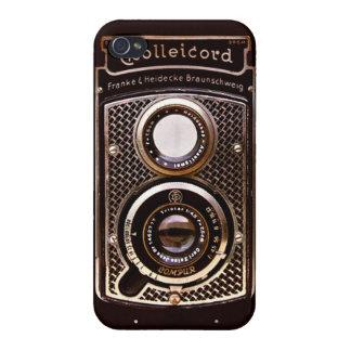 旧式なカメラのrolleicordのアール・デコ iPhone 4/4Sケース
