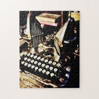 旧式なタイプライターオリバー#9 ジグソーパズル
