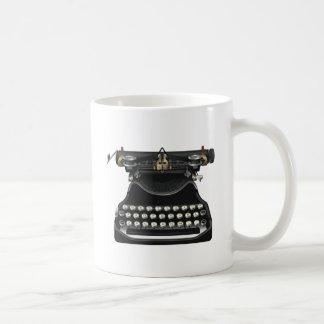 旧式なタイプライター コーヒーマグカップ