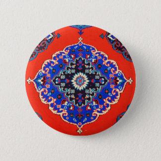 旧式なトルコの織物のカーペットの敷物Kilims 5.7cm 丸型バッジ