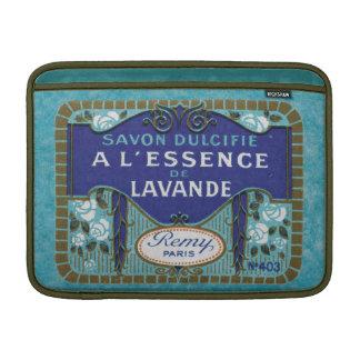 旧式なフランスのなラベンダーの石鹸 MacBook スリーブ