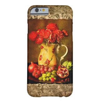 旧式なヴィンテージのフルーツおよび花つぼのiPhone 6 Barely There iPhone 6 ケース
