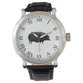 旧式なヴィンテージのブタ 腕時計