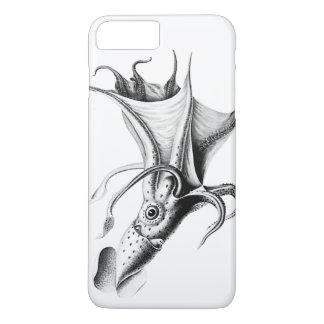 旧式なヴィンテージの航海のなイカはタコをkraken iPhone 7 plusケース