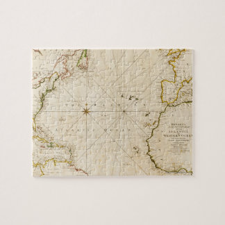 旧式な世界地図 ジグソーパズル