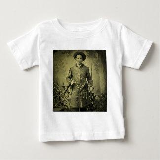 旧式な内戦の兵士の同盟国Tintype ベビーTシャツ
