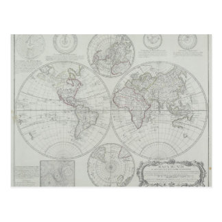旧式な地図2 ポストカード