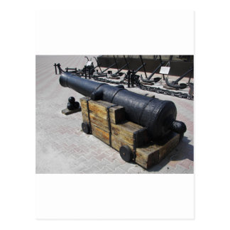 旧式な大砲 ポストカード