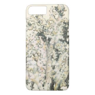 旧式な水彩画の珊瑚 iPhone 8 PLUS/7 PLUSケース
