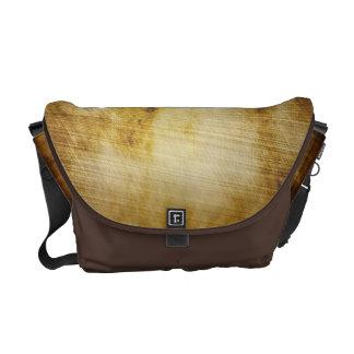 旧式な羊皮紙のグランジな人の通勤者のバッグ メッセンジャーバッグ
