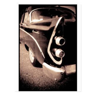 旧式な自動車 はがき