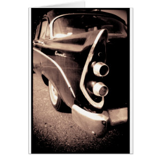 旧式な自動車 カード
