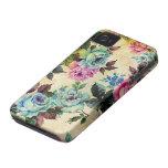 旧式な花の穹窖のiPhone 4 iPhone 4 Case-Mate ケース