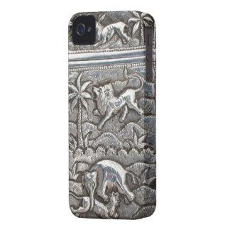 旧式な銀製の私電話箱 Case-Mate iPhone 4 ケース