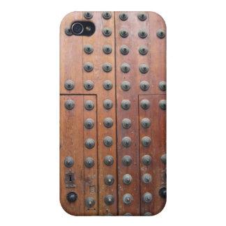 旧式な青銅色のドアのiphone 4ケース iPhone 4/4S ケース
