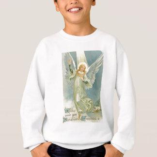 旧式のクリスマスの天使グロリア スウェットシャツ