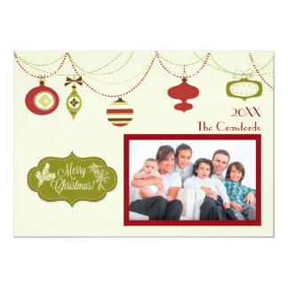 旧式のクリスマス-クリスマスカード カード