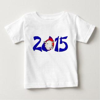 旧正月の2015年Tシャツ、ヒツジの年の ベビーTシャツ