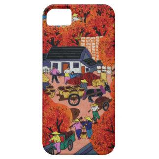旧正月、中国のな村 iPhone SE/5/5s ケース