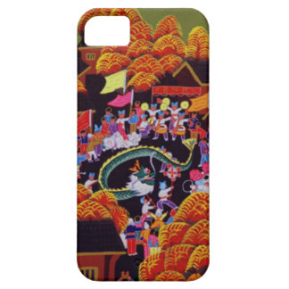 旧正月、村のお祝い iPhone SE/5/5s ケース