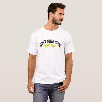 早い鳥の乗組員のデザイン Tシャツ