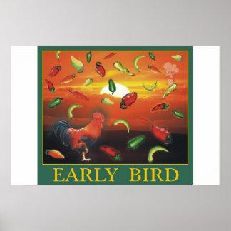 早い鳥 ポスター