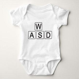 早く学ぶWASD ベビーボディスーツ