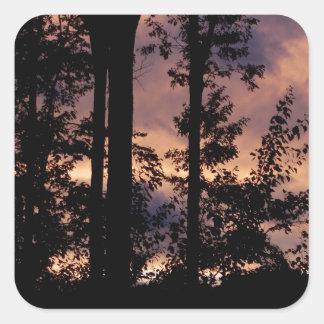 早く- 9月の薄暗がり スクエアシール