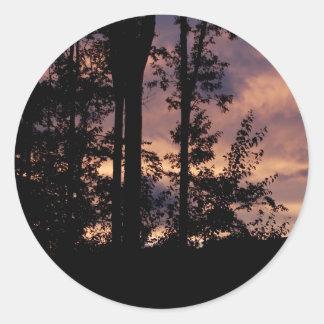 早く- 9月の薄暗がり ラウンドシール