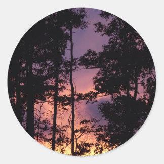 早く- 9月の薄暗がりII ラウンドシール