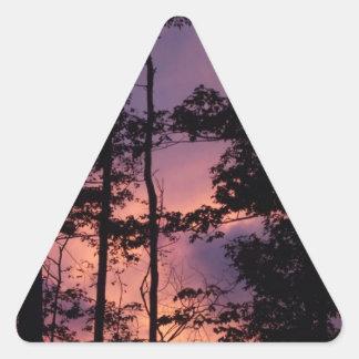 早く- 9月の薄暗がりII 三角形シール