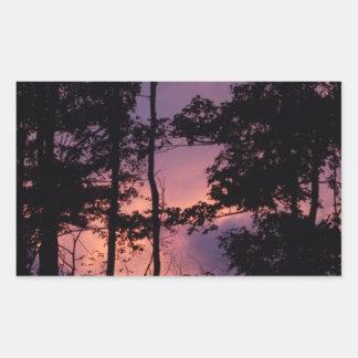 早く- 9月の薄暗がりII 長方形シール