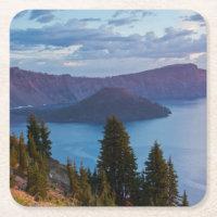 早朝、crater湖