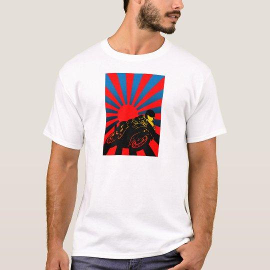 旭日バイク Tシャツ
