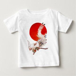 旭日鳳凰 伊藤若冲 鳳凰 日本 ベビーTシャツ
