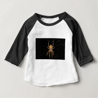 昆虫のマクロくもコロンビア ベビーTシャツ