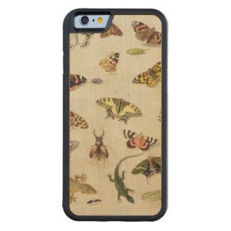 昆虫の勉強 CarvedメープルiPhone 6バンパーケース