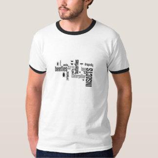 昆虫のTシャツ Tシャツ