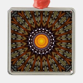 (昆虫)オオカバマダラ、モナークおよびMarigolgの万華鏡のように千変万化するパターン メタルオーナメント