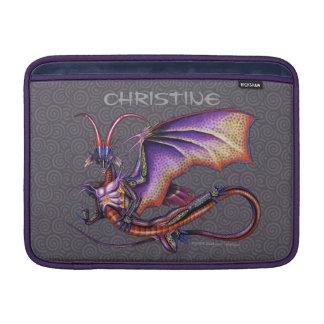 (昆虫)オオカバマダラ、モナークのドラゴンのMacBookの空気袖 MacBook スリーブ