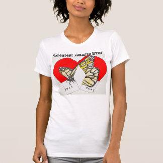 (昆虫)オオカバマダラ、モナークのボクシンググラブを持つすばらしい伯母さん Tシャツ