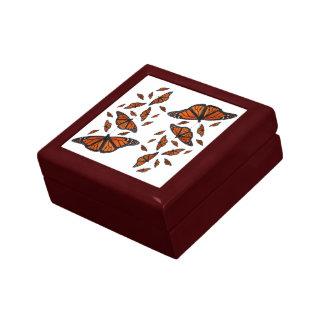 (昆虫)オオカバマダラ、モナークのメドレーのギフト用の箱(色を選んで下さい) ギフトボックス