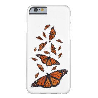 (昆虫)オオカバマダラ、モナークのメドレーのiPhone6ケース(色を選んで下さい) Barely There iPhone 6 ケース